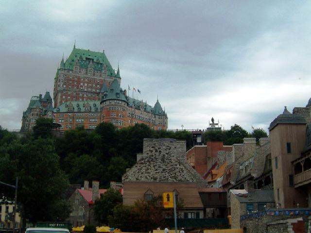Canada - Quebec City castle