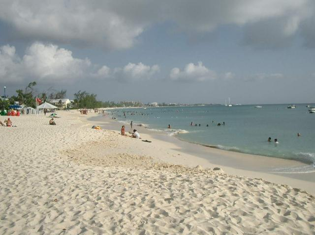 Cayman eilanden - 7 mile beach