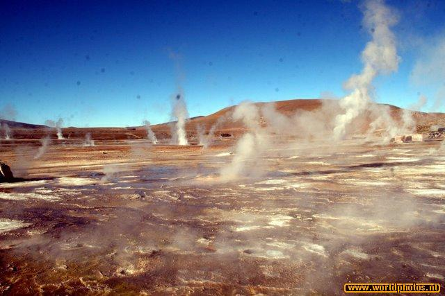 Chili - Tatio geisers