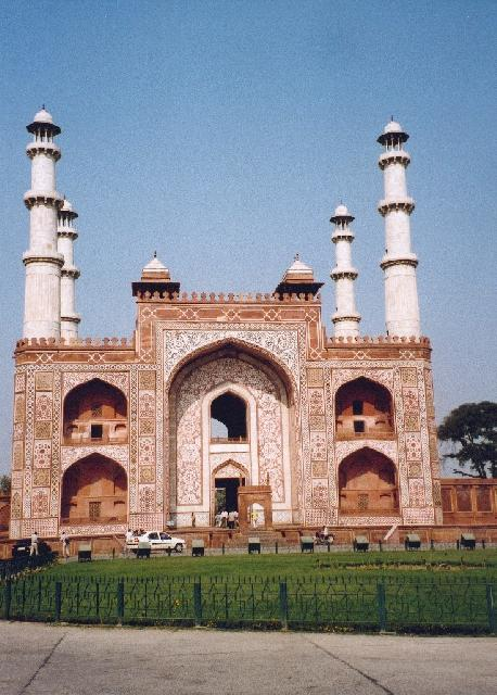 India - Akbar's Tomb in Sikandra Agra