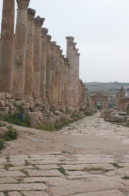 Jordanië - Colonnaded Street