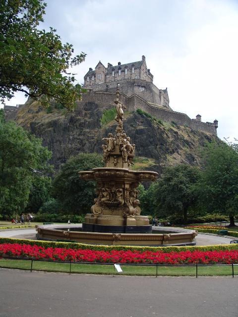 Schotland - Edinburgh castle