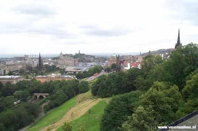 Schotland - Uitzicht over Edinburgh