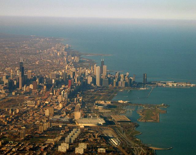 United States of America - View over Chicago